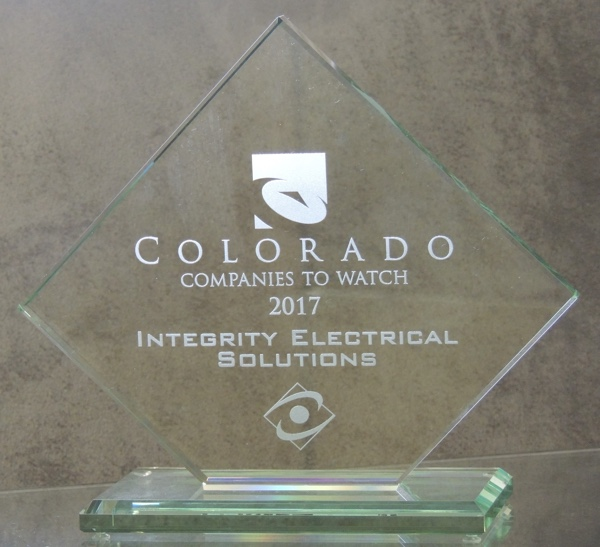 Integrity Honored with 2017 Colorado Companies to Watch Award
