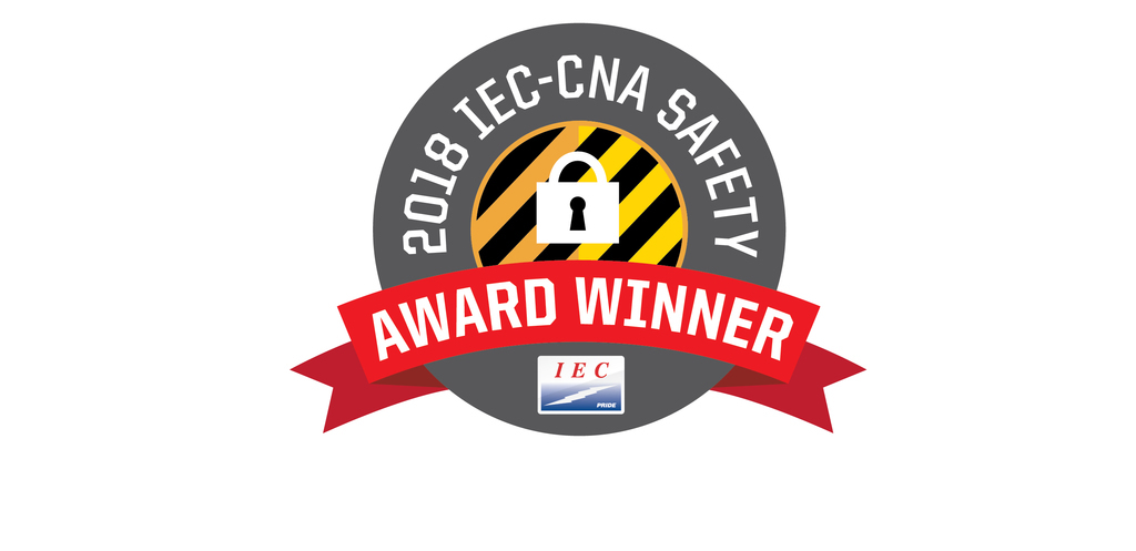 2018 IEC-CNA Safety Award goes to Integrity Electrical Solutions